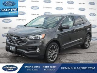 New 2020 Ford Edge Titanium - Navigation - Sunroof - $265 B/W for sale in Port Elgin, ON