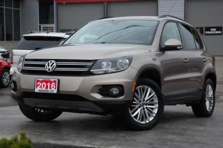 Used 2016 Volkswagen Tiguan BACKUP CAM - 4MOTION AWD - HEATED SEATS! for sale in Chatham, ON