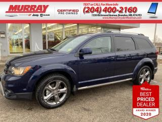 Used 2017 Dodge Journey *2nd Row DVD* *Nav* *AWD* *Park Assist* *Keyless* for sale in Brandon, MB