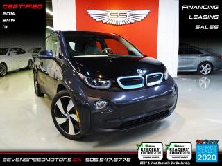 Used 2014 BMW i3 RANGE EXTENDER   ACCIDENT FREE   CERTIFIED   FINANCE @ 4.65% for sale in Oakville, ON