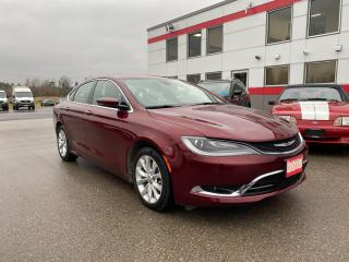 Used 2015 Chrysler 200 C with navigation for sale in Tillsonburg, ON