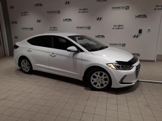 Used 2017 Hyundai Elantra GL AUTOMATIQUE **JAMAIS ACCIDENTÉ** for sale in St-Eustache, QC