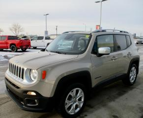 Used 2016 Jeep Renegade Limited for sale in Estevan, SK