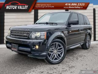 Used 2013 Land Rover Range Rover Sport Sport 4WD HSE 360 CAMERA / NAVIGATION MINT! for sale in Scarborough, ON