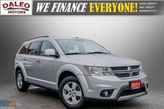 Used 2011 Dodge Journey SXT / 7 PASSENGERS / USB / CLEAN / for sale in Hamilton, ON