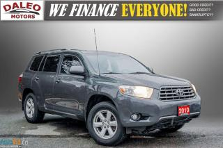 Used 2010 Toyota Highlander 7 PASSENGERS / 2WD / CLEAN / for sale in Hamilton, ON