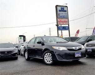 Used 2012 Toyota Camry No accidents| Hybrid LE | Low Km for sale in Brampton, ON