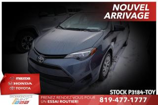 Used 2017 Toyota Corolla LE| SAFETY SENSE| CAM RECUL for sale in Drummondville, QC