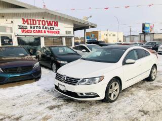 Used 2014 Volkswagen Passat CC Sportline for sale in Regina, SK