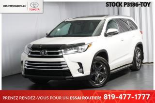 Used 2017 Toyota Highlander LIMITED  ** CAMERA 360 + SIÈGES VENTILÉS ** for sale in Drummondville, QC