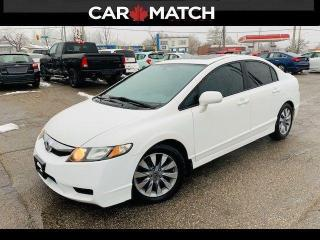 Used 2009 Honda Civic EX-L  / NO ACCIDENTS / LEATHER / ROOF for sale in Cambridge, ON
