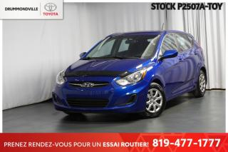 Used 2013 Hyundai Accent ** SIÈGES CHAUFFANTS + BLUETOOTH!! ** for sale in Drummondville, QC
