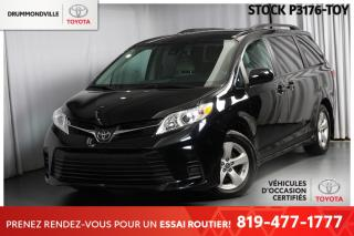 Used 2019 Toyota Sienna LE   PORTES LATÉRALES ASSISTÉES + 8 PASSAGERS! for sale in Drummondville, QC