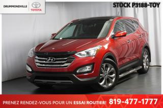 Used 2013 Hyundai Santa Fe LIMITED| NAVIGATION| TOIT PANORAMIQUE for sale in Drummondville, QC