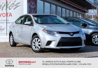 Used 2014 Toyota Corolla CE BLUETOOTH, GROUPE ÉLECTRIQUE for sale in Pointe-Claire, QC
