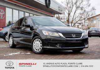 Used 2013 Honda Accord ***RÉSERVÉ***LX GROUPE ÉLECTRIQUE for sale in Pointe-Claire, QC