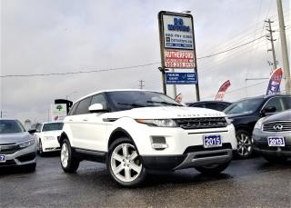 Used 2015 Land Rover Range Rover Evoque Pure Plus |AWD | Pano Roof | NAV |RCAM| Certified for sale in Brampton, ON