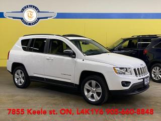 Used 2013 Jeep Compass North, Sunroof, 2 Years Warranty for sale in Vaughan, ON
