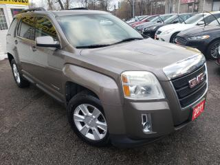 Used 2011 GMC Terrain SLT-1/AWD/LEATHER/ROOF/BLUETOOTH/APPLE CAR for sale in Scarborough, ON