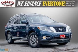 Used 2015 Nissan Pathfinder SL / 7 PASS / LEATHER / HEATED SEATS / LOADED for sale in Hamilton, ON