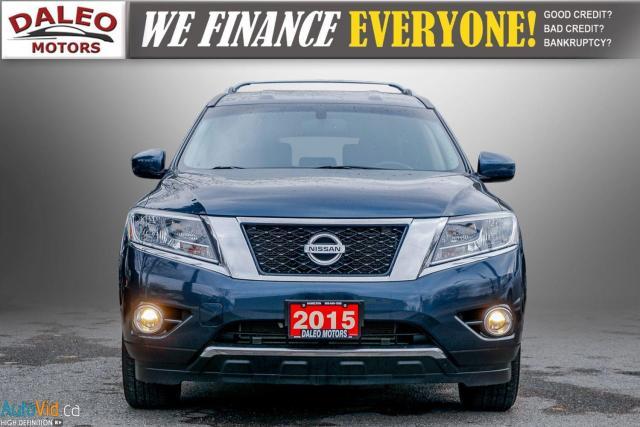 2015 Nissan Pathfinder SL / 7 PASS / LEATHER / HEATED SEATS / LOADED Photo3