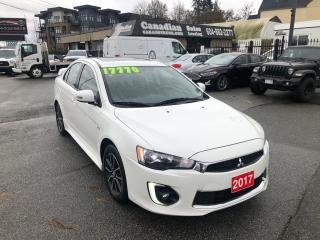 Used 2017 Mitsubishi Lancer SE LTD 2.0L 148HP CVT AUTO for sale in Langley, BC