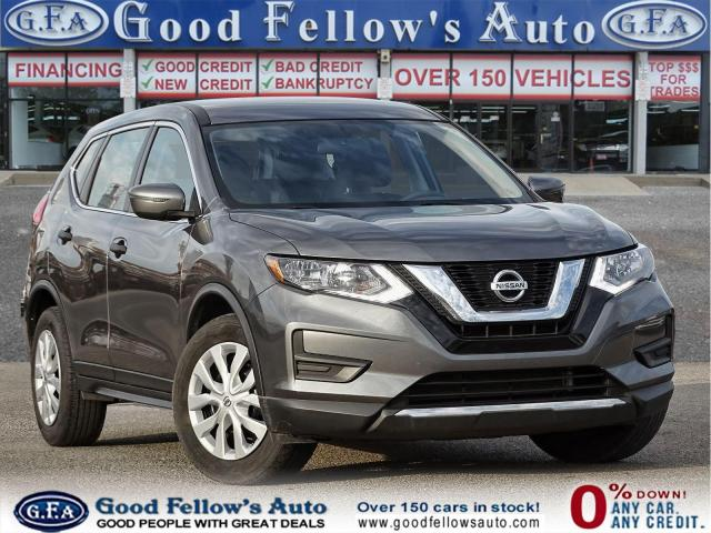 2017 Nissan Rogue S MODEL, 4CYL 2.5L, REARVIEW CAMERA, PARKING ASSIS