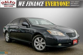 Used 2007 Lexus ES 350 LEATHER / POWER MOONROOF / COOLED & HEATED SEATED for sale in Hamilton, ON