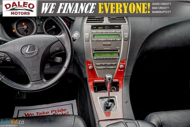 2007 Lexus ES 350 LEATHER / POWER MOONROOF / COOLED & HEATED SEATED Photo15