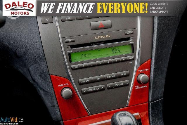 2007 Lexus ES 350 LEATHER / POWER MOONROOF / COOLED & HEATED SEATED Photo20