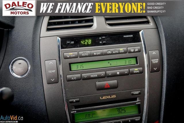 2007 Lexus ES 350 LEATHER / POWER MOONROOF / COOLED & HEATED SEATED Photo21