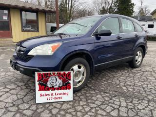 Used 2008 Honda CR-V LX for sale in Glencoe, ON