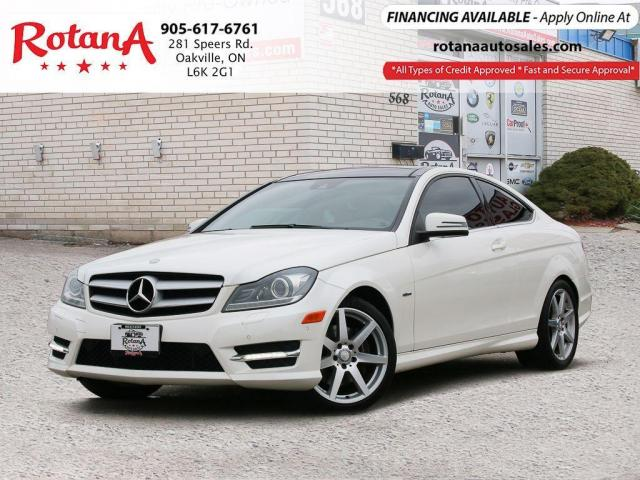 2012 Mercedes-Benz C-Class C 350 AMG Pkg/Navi/Blind Sopt /Bluetooth