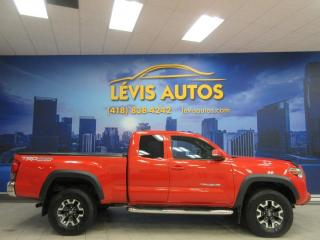 Used 2016 Toyota Tacoma TRD OFF ROAD 4X4 CAMERA DE RECUL AIR CLI for sale in Lévis, QC