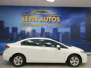 Used 2015 Honda Civic LX MANUEL AIR CLIMATISE BLUETOOTH BANC C for sale in Lévis, QC
