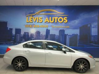 Used 2012 Honda Civic LX MANUEL 108600 KM AIR CLIMATISE BLUETO for sale in Lévis, QC