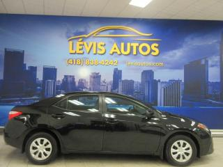 Used 2015 Toyota Corolla CE MANUEL 6 VITESSES 85600KM AIR CLIMATI for sale in Lévis, QC