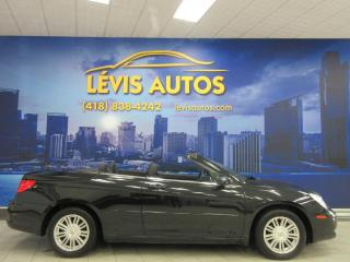 Used 2009 Chrysler Sebring CABRIOLET AUTOMATIQUE 100400 KM AIR CLIM for sale in Lévis, QC