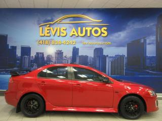 Used 2017 Mitsubishi Lancer 25200 KM AWD EDITION ANNIVERSAIRE AWC TO for sale in Lévis, QC