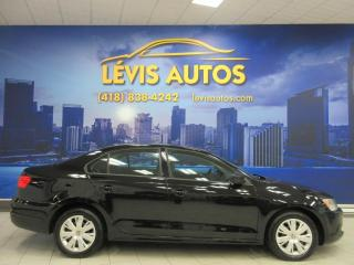 Used 2012 Volkswagen Jetta TRENDLINE AUTOMATIQUE AIR CLIMATISE BANC for sale in Lévis, QC