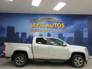Used 2017 Chevrolet Colorado Z71 4X4 70000 KM CUIR GPS CAMERA DE RECU for sale in Lévis, QC