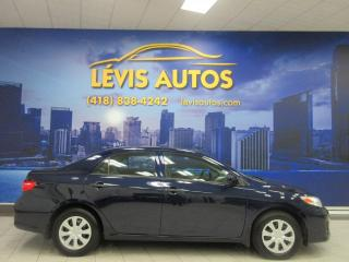 Used 2013 Toyota Corolla MANUEL 5 VITESSES SEULEMENT 123000 KM JA for sale in Lévis, QC