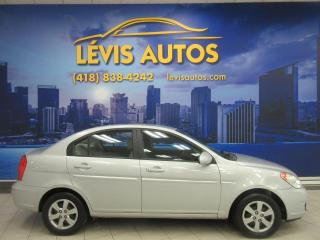 Used 2008 Hyundai Accent BERLINE 4 PORTES MANUEL 5 VITESSES BAS P for sale in Lévis, QC