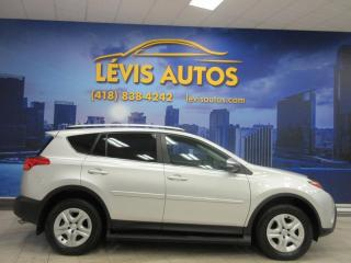 Used 2014 Toyota RAV4 LE AWD CAMERA DE RECUL BANC CHAUFFANT BL for sale in Lévis, QC