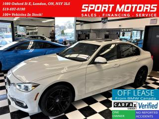 Used 2016 BMW 3 Series 328i xDrive+GPS+Camera+Sensors+ACCIDENT FREE for sale in London, ON