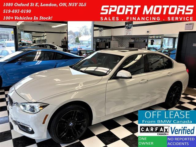 2016 BMW 3 Series 328i xDrive+GPS+Camera+Sensors+ACCIDENT FREE