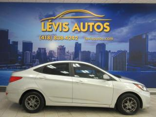 Used 2012 Hyundai Accent GL AUTOMATIQUE AIR CLIMATISE for sale in Lévis, QC