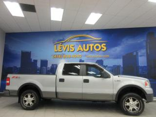 Used 2008 Ford F-150 FX4 5.4 TRITON 4X4 SUPERCREW AIR CLIMATI for sale in Lévis, QC