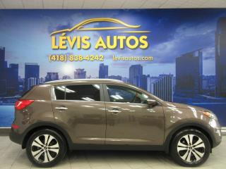 Used 2013 Kia Sportage EX AWD BLUETOOTH AIR CLIMATISÉ BANC CHAU for sale in Lévis, QC