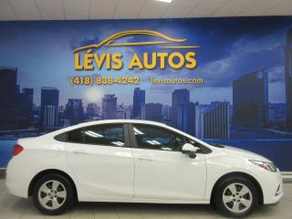 Used 2016 Chevrolet Cruze LS MANUEL 6 VITESSES 53200 KM BLUETOOTH for sale in Lévis, QC